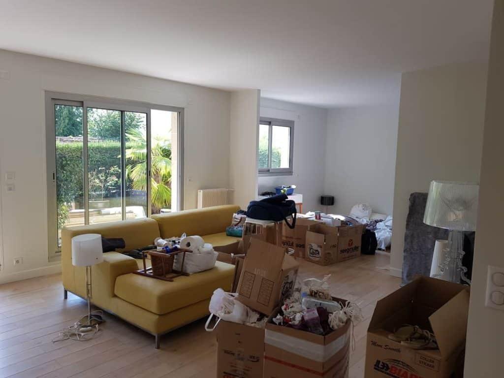 Salon maison peinture